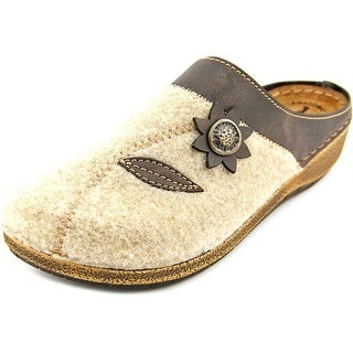 Flexus by Spring Step Aries Round Toe Canvas Mules