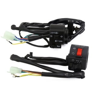 2Pcs Motorcycle Signal Light Controller Handlebar Switch For GS125