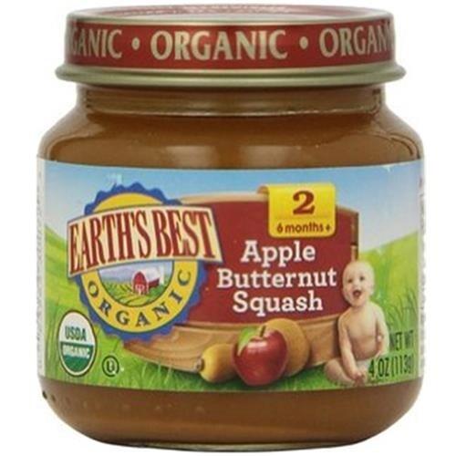 Earth's Best - Organic Apple Butternut Squash ( 12 - 4 OZ)
