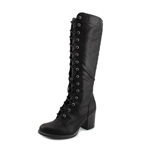 Nine West Beasley 3Y Women Black Boots