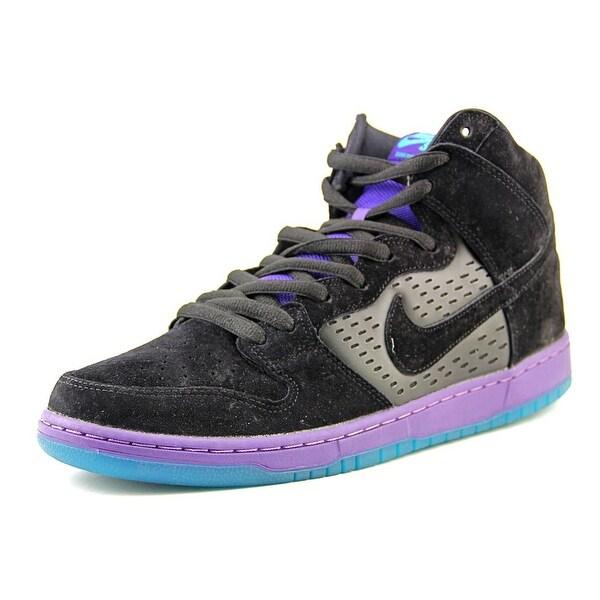 Nike Dunk High Premium SB Round Toe Suede Basketball Shoe