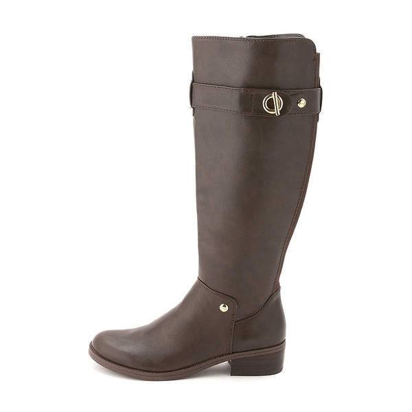 Tommy Hilfiger Womens GALLOP2 Closed Toe Knee High Riding Boots