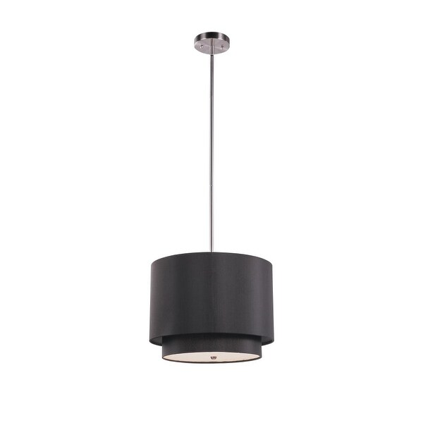 Trans Globe Lighting PND-801 3-Light Double Shade Pendant from the Young and Hip Collection - n/a