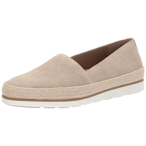 Donald J Pliner Womens Palm Leather Almond Toe Loafers