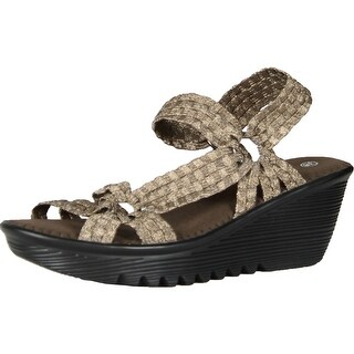 Bernie Mev Womens Crystal Sandals