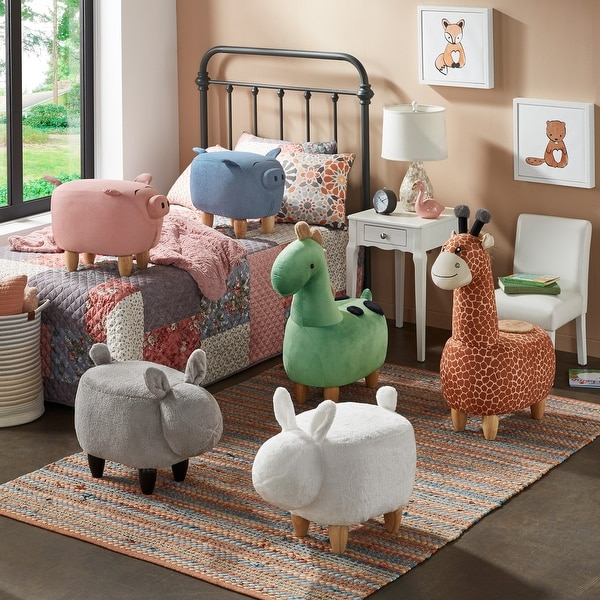 iQ Friends - Animal Ottomans by iNSPIRE Q Junior. Opens flyout.