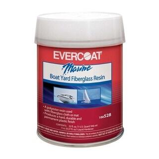 Evercoat 100528 Boat Yard Fiberglass Resin, 1 Qt.