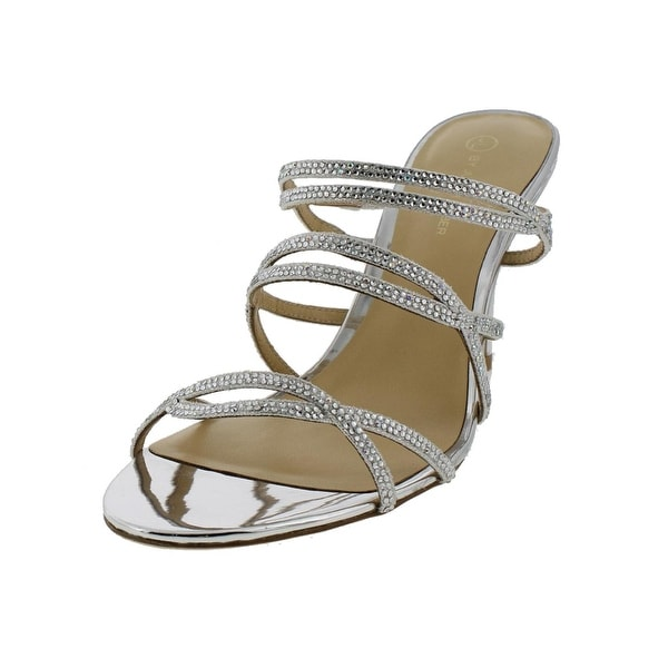 Judith Leiber Womens Adrianna Dress Sandals Embellished Strappy - 9.5 medium (b,m)