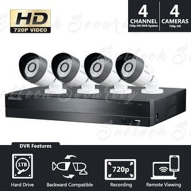 SDH-B3040 Samsung 4 Channel Security Camera System (Refurbished)