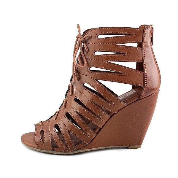MIA Womens Issy Open Toe Casual Platform Sandals