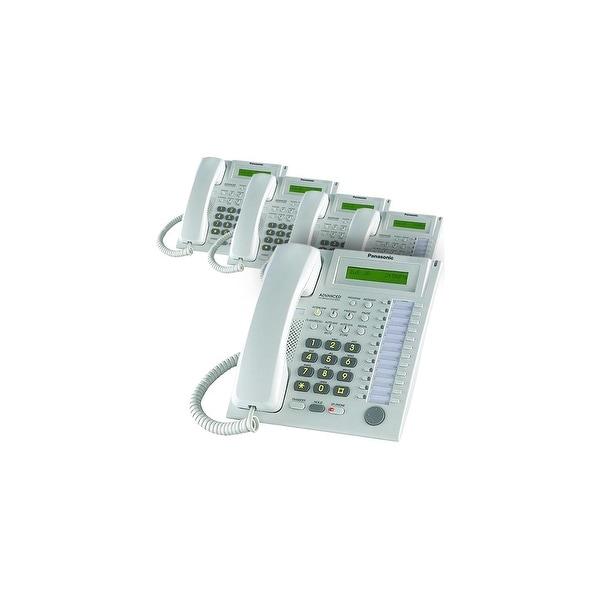 Panasonic KX-T7731W (5 Pack) Speakerphone Telephone With LCD