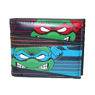 BioWorld Kid's Teenage Mutant Ninja Turtles Bifold Wallet - Black - One size