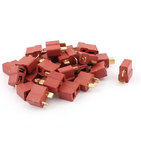 30Pcs Female Ultra T Plug Connectors for RC LiPo Battery