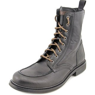 Cole Haan Jameson Lace Bt II   Moc Toe Leather  Boot