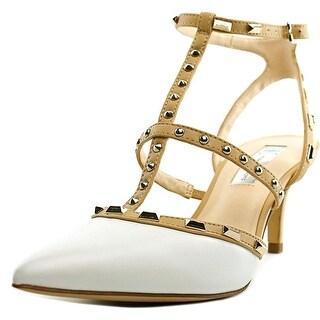 INC International Concepts Carma Women Synthetic White Slingback Heel