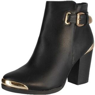 Refresh Women's Apollo Boots - Black - 10 b(m) us
