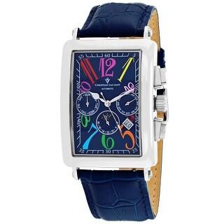 Christian Van Sant Men's Prodigy CV9133 Blue Dial Watch