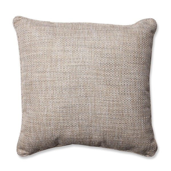 "18 "" Amazing Gray Textured Square Decorative Throw Pillow"