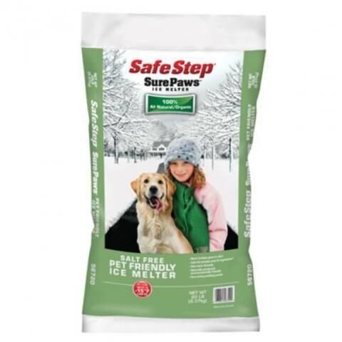 Safe StepA 56754 Sure PawsA Pet-Friendly Ice Melter, 40 Lb