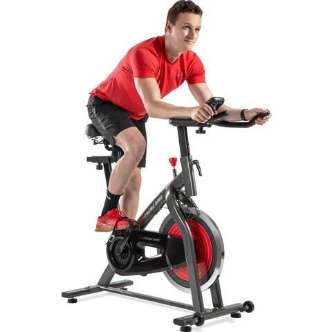 Indoor Cycling Bike w/ 4-Way Indoor Cycling Bike