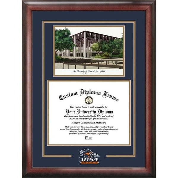Shop University of Texas San Antonio Spirit Graduate Frame with ...
