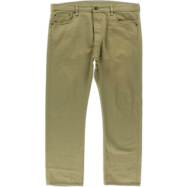 e95a05fca23 Shop Levi's Mens 501 Straight Leg Jeans Original Fit Classic Rise - 31/30 -  Free Shipping On Orders Over $45 - Overstock - 19550951