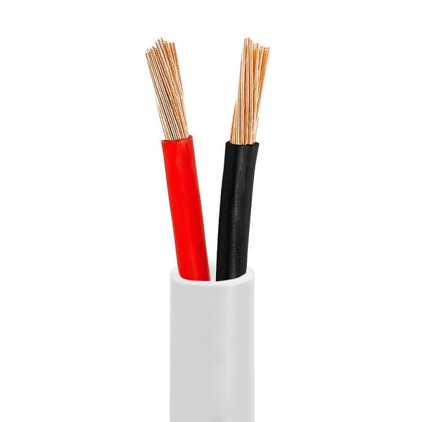 12AWG CL2-Rated Two-Conductor In-Wall Speaker Cable - 50 Feet