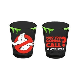 Ghostbusters Who You Gonna Call Shot Glass