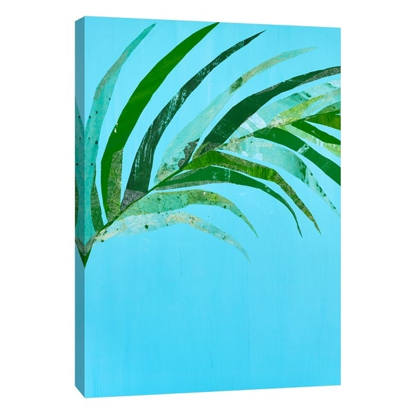 "PTM Images 9-108600 PTM Canvas Collection 10"" x 8"" - ""Summertime in Blue 2"" Giclee Leaves Art Print on Canvas"