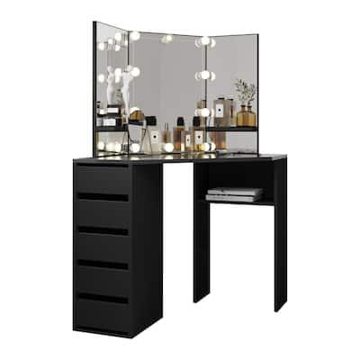 Beauty Corner Makeup Vanity Mirror with Lights