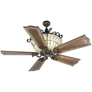 """Craftmade K10661 Cortana 56"""" 5 Blade DC Indoor Ceiling Fan - Blades and Remote Included"""