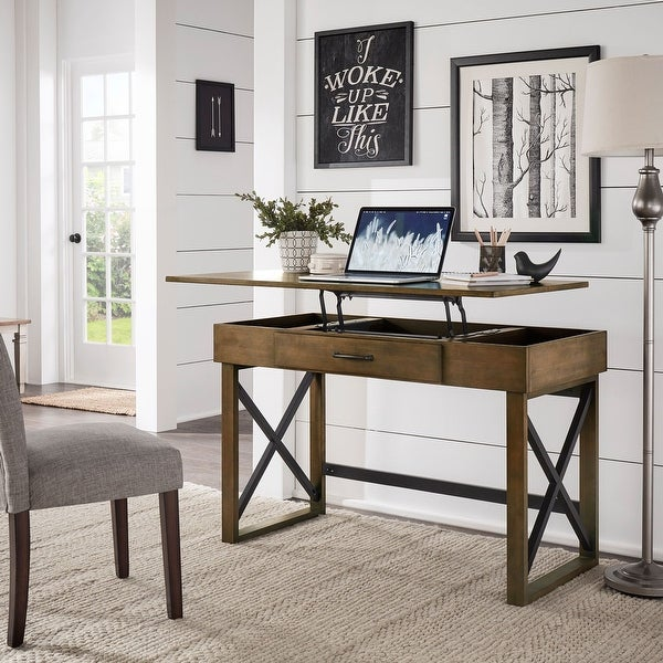 Carbon Loft Stanger Height-adjustable/Lift-top Desk. Opens flyout.
