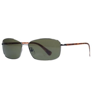Michael Kors MKS 352S 038 ADAM Light Gunmetal Rectangular Sunglasses