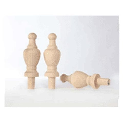 """Cindoco Wood Products CP8 Finial 2-5/8"""""""