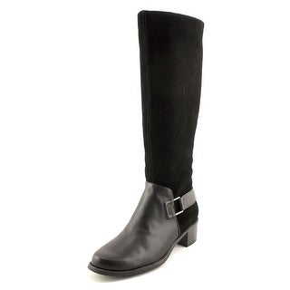 Aerosoles After Hours Women  Round Toe Suede Black Knee High Boot