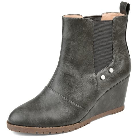 Journey + Crew Womens Comfort Bootie