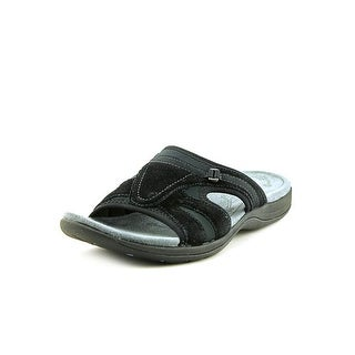 Easy Spirit Sahara Open Toe Suede Slides Sandal
