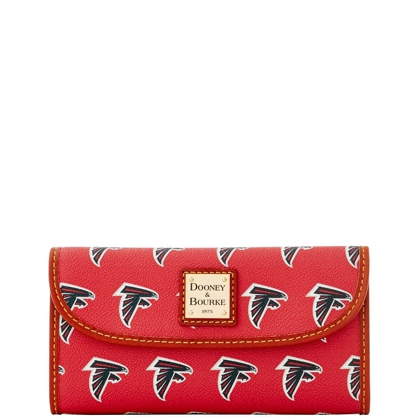 Dooney & Bourke NFL Atlanta Falcons Continental Clutch (Introduced by Dooney & Bourke at $128 in Aug 2016)