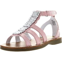 Rachel Girls Precious Gladiator Glitz Fashion Sandals