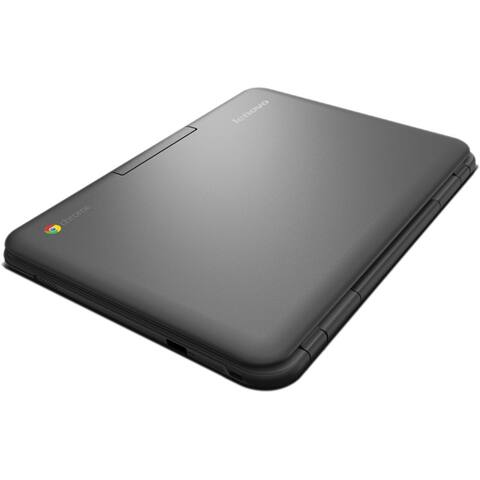 "Lenovo 80MG0001US Intel Celeron N2840 X2 2.16GHz 2GB 16GB SSD 11.6"", Black (Refurbished)"
