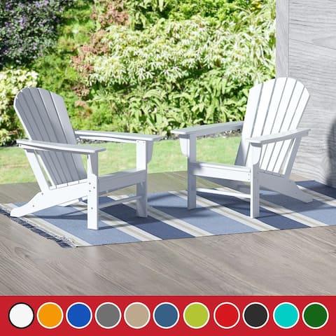 Laguna Classic Outdoor Adirondack Chair (Set of 2)