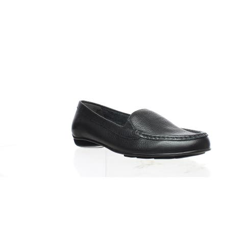 Walking Cradles Womens Mick Black Loafers Size 5.5