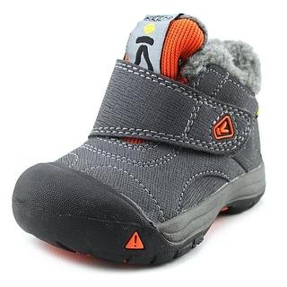 Keen Kootenay WP Infant Round Toe Synthetic Gray Winter Boot