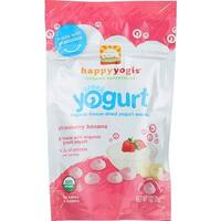Happy Family - Greek Yogurt Strawberry Banana Melts ( 8 - 1 OZ)