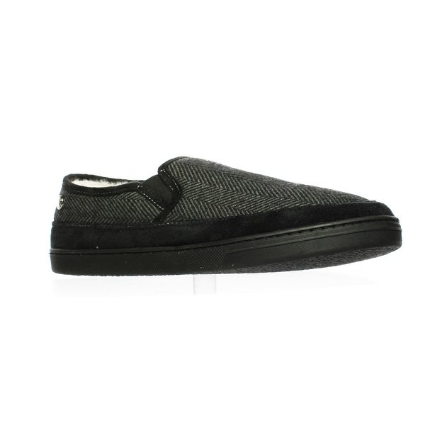 59a7ea3efc8 Shop Steve Madden Mens Grey Box Moccasin Slippers Size 12 - Free ...