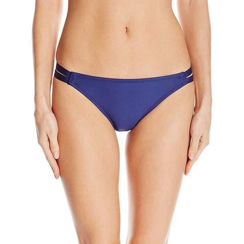 Splendid Women's Strap Side Swimsuit Bikini Bottom Sz: M