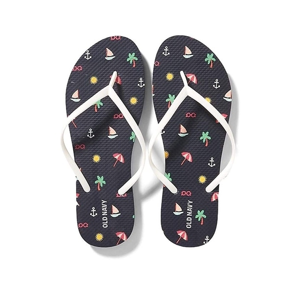 fe51336a2 Shop Old Navy Women Beach Summer Casual Flip Flop Sandals - Free ...