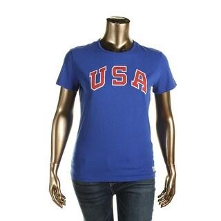 Polo Ralph Lauren Womens T-Shirt Jersey USA Graphic
