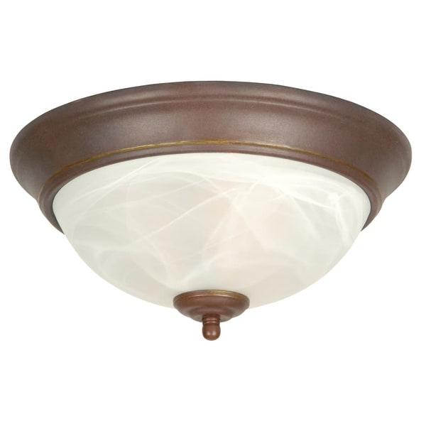 Craftmade X211 2 Light Flush Mount Ceiling Fixture
