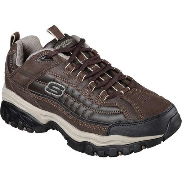 04e52ef86506 Shop Skechers Men s Energy Downforce Brown Taupe - Free Shipping ...
